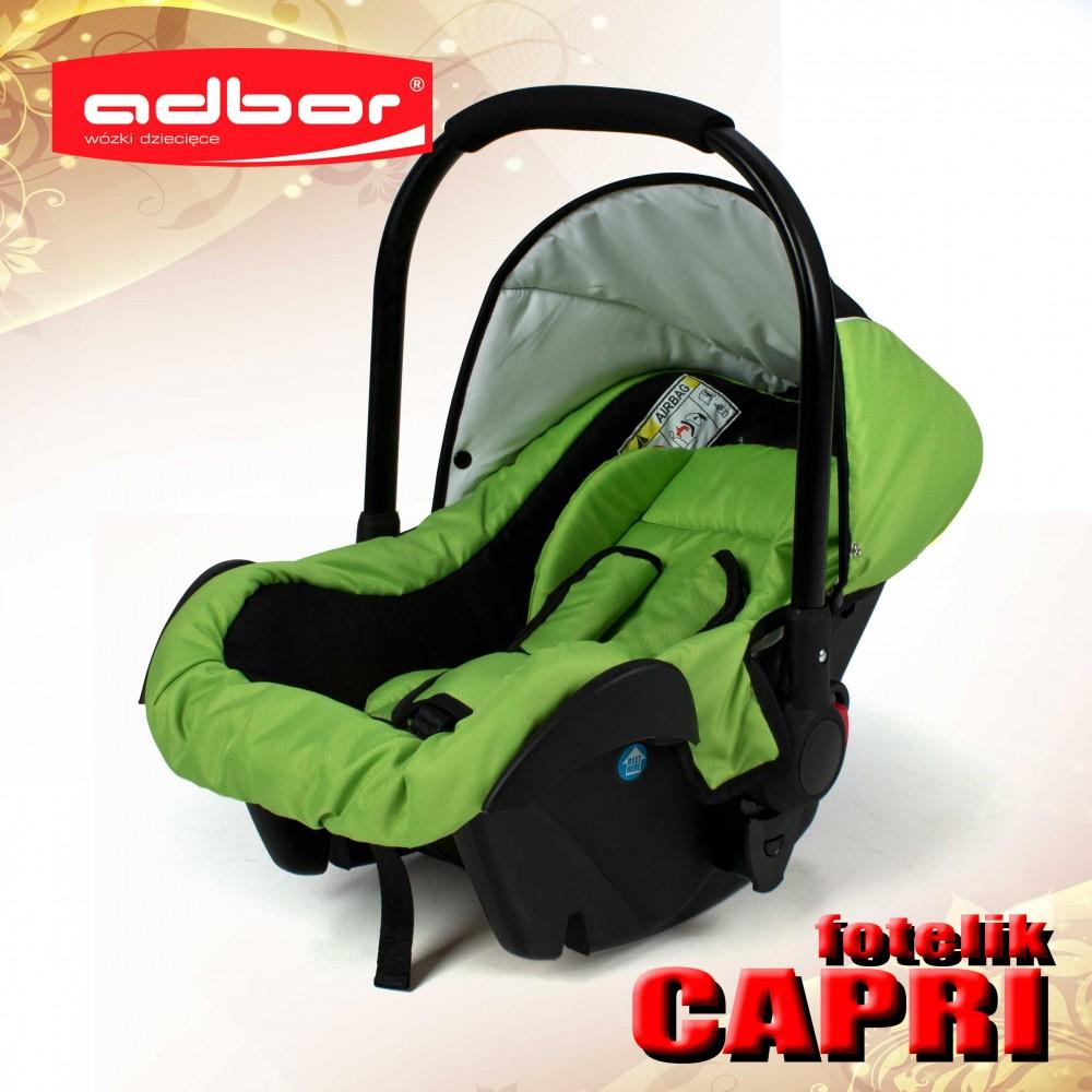 Fotelik Samochodowy Capri Adbor